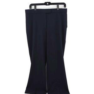 Sag Harbor Womens  Replenishment Dress Pants Navy